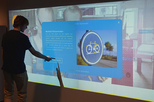 ANWB/The Pickle Factory </br>Interactive Touch Wall